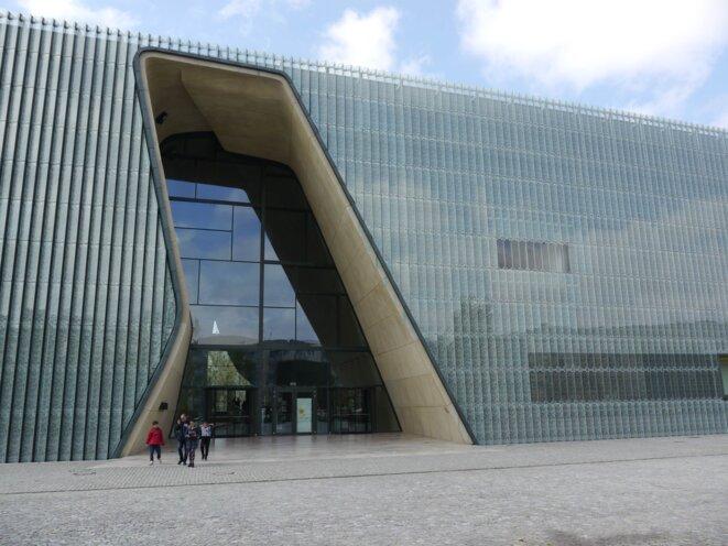 Le musée de l'histoire des Juifs à Varsovie © Amélie Poinssot