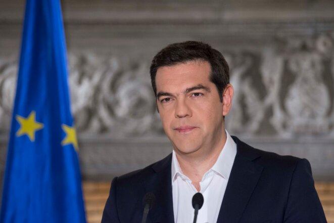 «La démocratie ne peut pas être soumise à un chantage», a dit Alexis Tsipras dimanche soir