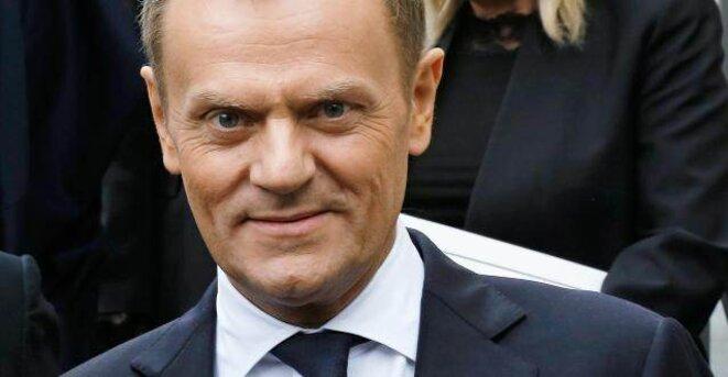 Donald Tusk, le premier ministre polonais, en poste depuis sept ans © Reuters