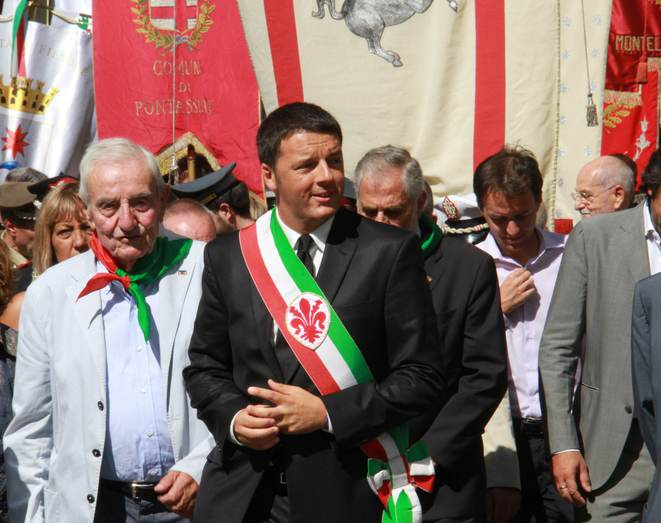Matteo Renzi maire de Florence © Studio associato cge fotogiornalismo