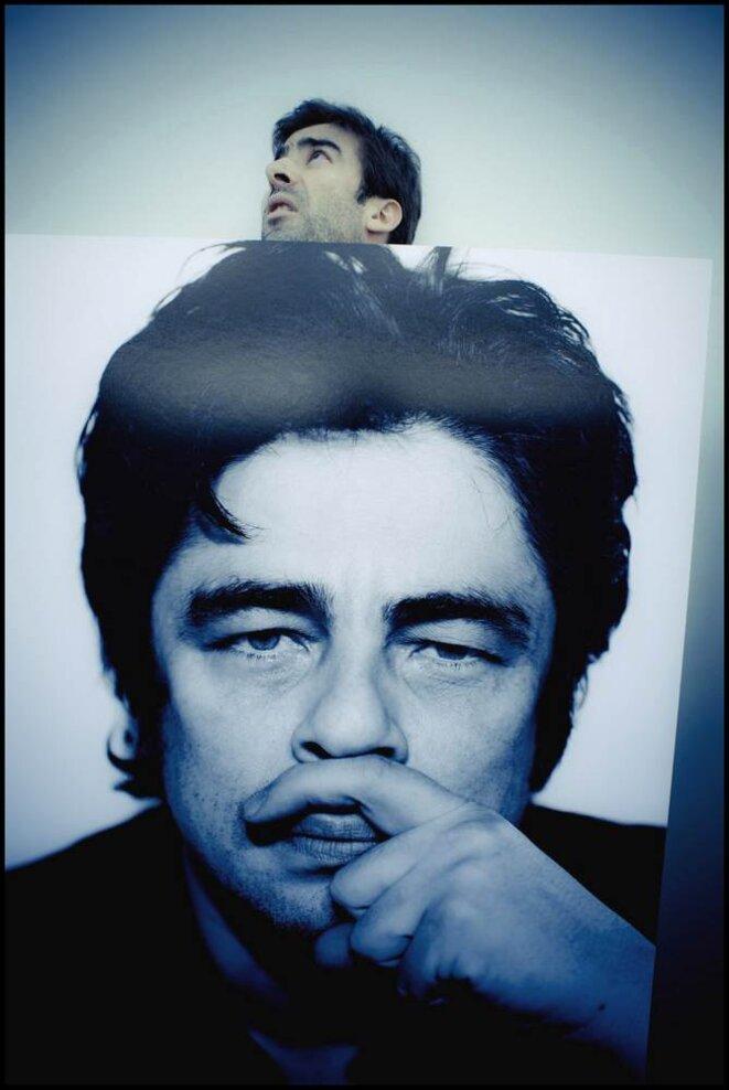 Benicio Del Toro vu par Maxime Bruno © Xavier Lahache