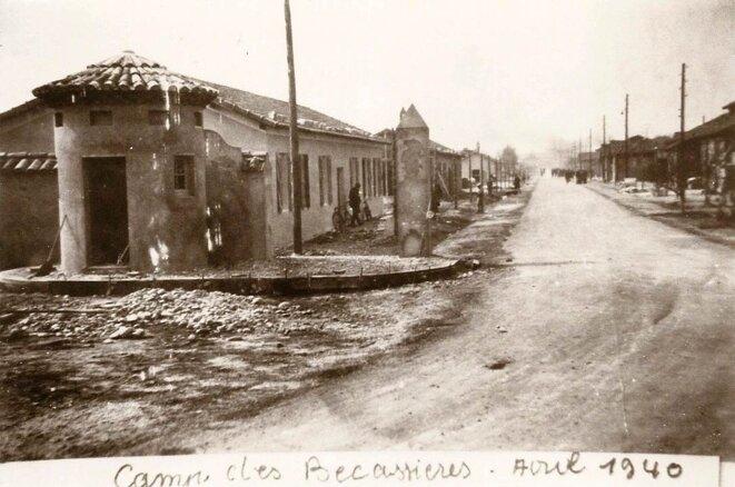 Camp Bécassières de Sorgues, avril 1940. © Raymond Chabert