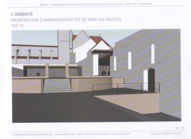 Proposition d'aménagement. © 2DBM ARCHITECTURE & PATRIMOINE