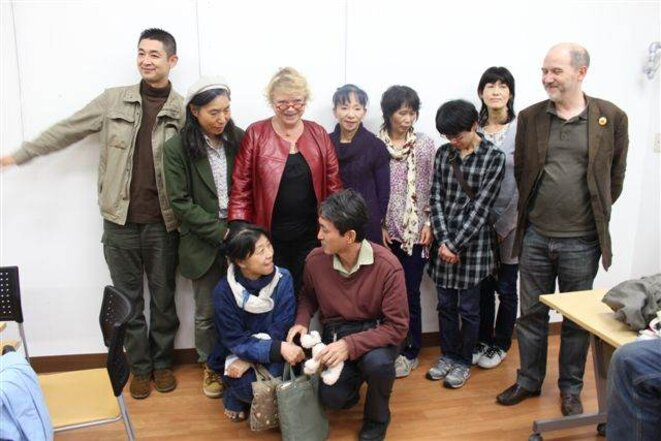 Avec les mères de Fukushima