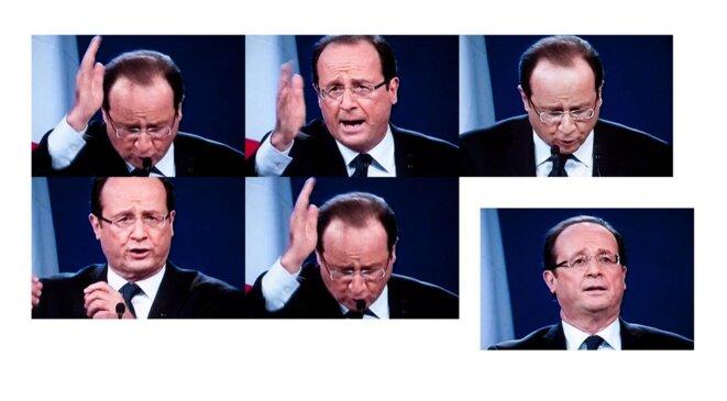 François Hollande, dim. 22 janvier 2012.