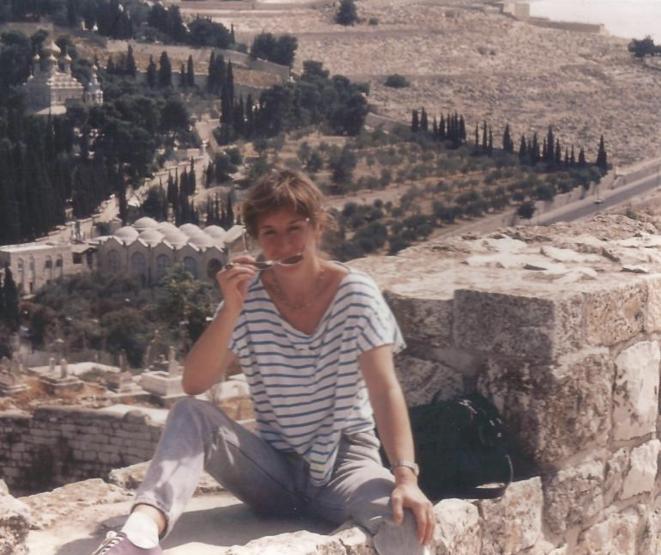 Brigitte Hemmerlin peu après sa libération. © DR