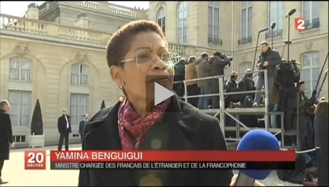 France 2, mercredi 26 mars 2014.