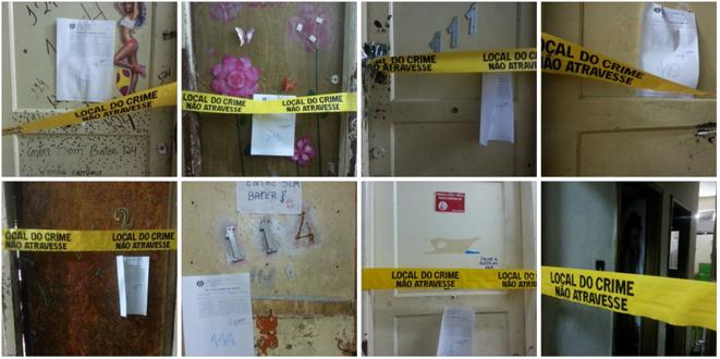 Appartements de prostituées fermés par la police à Niteroi. © Laura Rebecca Murray e Lourinelson Vladmir