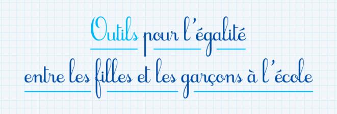 Le dossier Egalité filles-garçons sur le site Canopé.