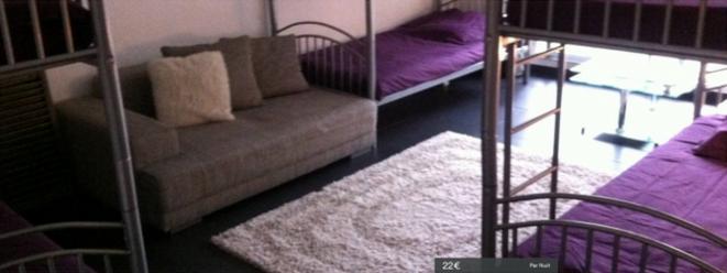 Paris, une chambre, dix couchages. © DR