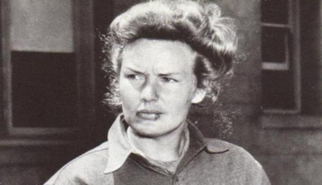 Frances Farmer durant son long séjour en hôpital psychiatrique. © DR