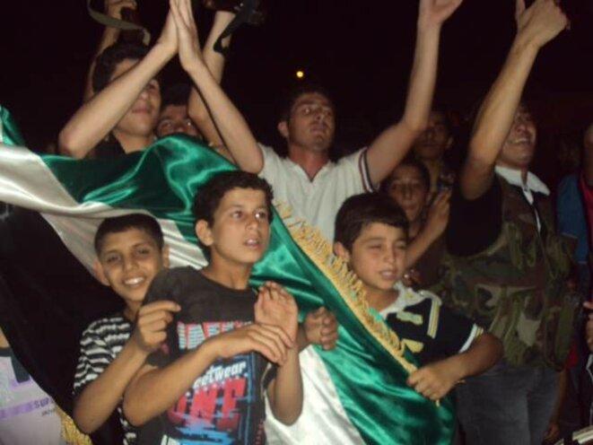 27 juillet juillet 2012 à A'zaz, Syrie. © DR