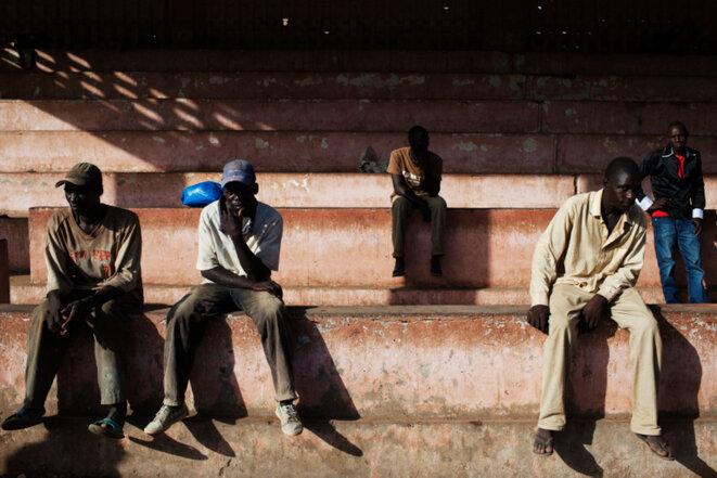 En attendant le meeting d'Ibrahim Boubacar Keita, samedi 13 juillet à Kayes.