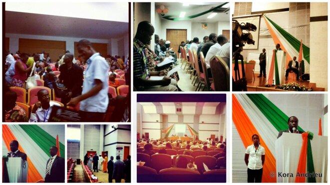 Journées du consensus national en Côte d'ivoire, mars 2012. © Kora Andrieu