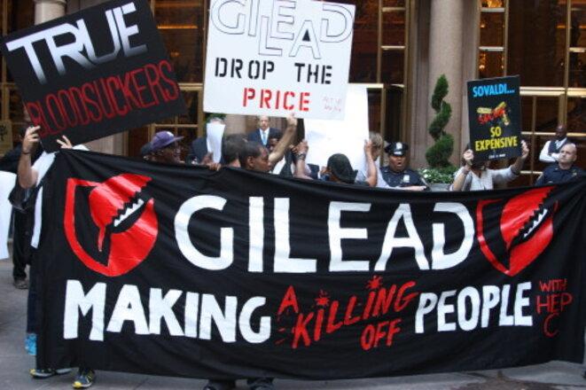 Manifestation à New York, en septembre 2014.
