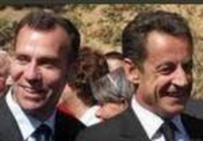 Hunault et Sarkozy.