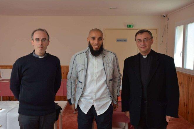 Pour fêter l'Aïd fin septembre, Rachid Abou Houdeyfa avait invité un prêtre et un pasteur brestois.