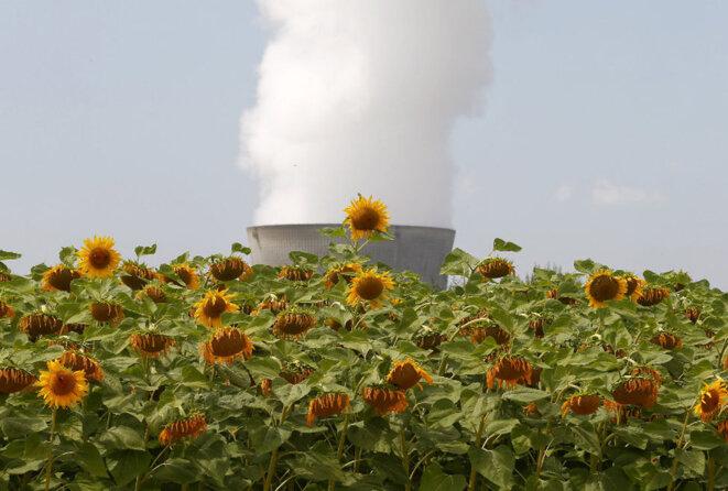 La centrale de Leibstadt (Suisse), en juillet 2015.  © Reuters.