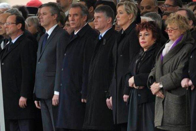 Cérémonie de Montauban. © Reuters