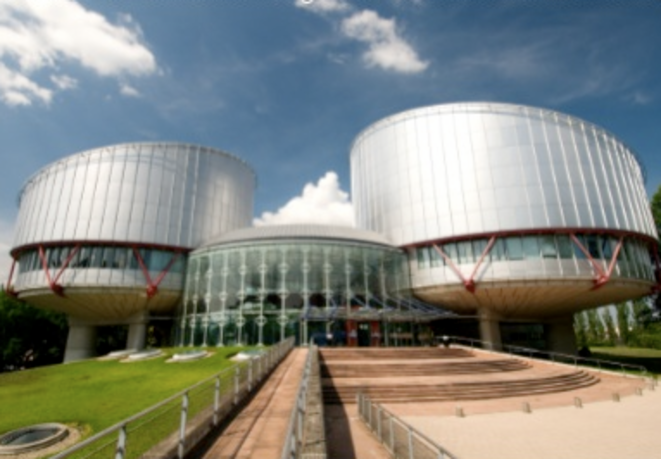 La Cour européenne des droits de l'homme. © AS