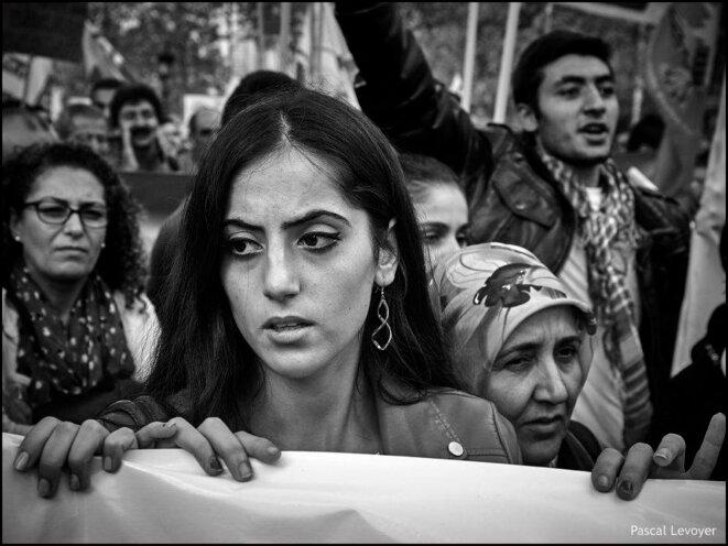 Les Kurdes de Syrie laissés seuls dans la lutte contre Daesh © Pascal Levoyer