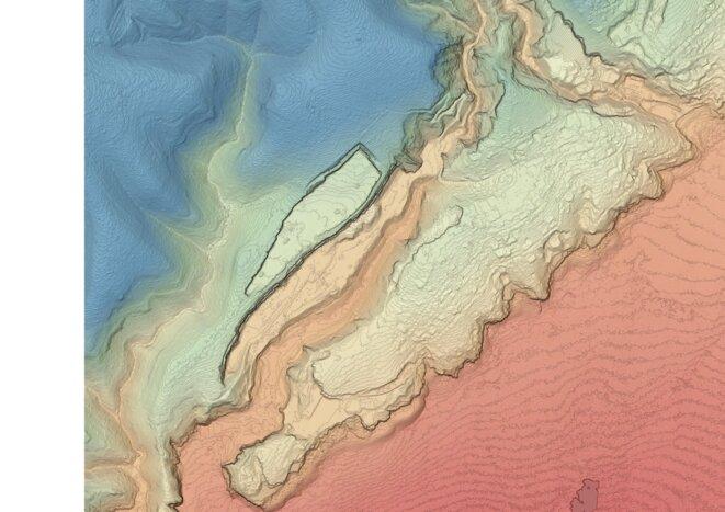 Etude bathymetrique du littoral © DDTM13