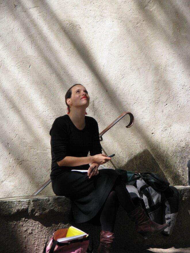 Estelle Bonnier-Bel Hadj à Buoux