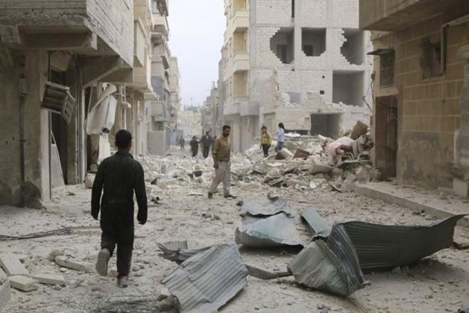 Alep, janvier 2014
