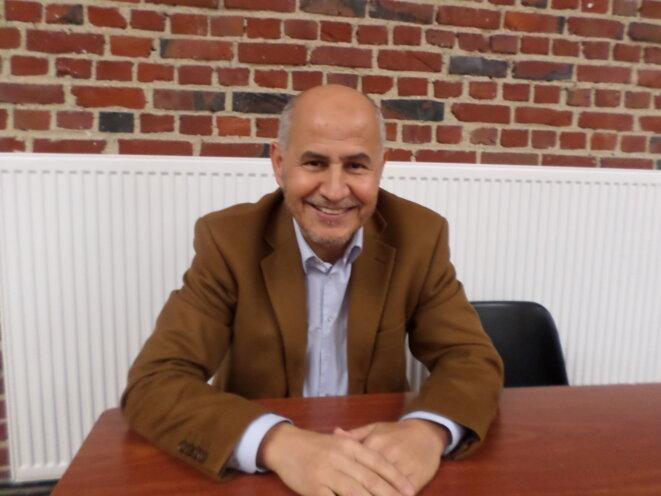 Amar Lasfar, fondateur du lycée et président de l'UOIF
