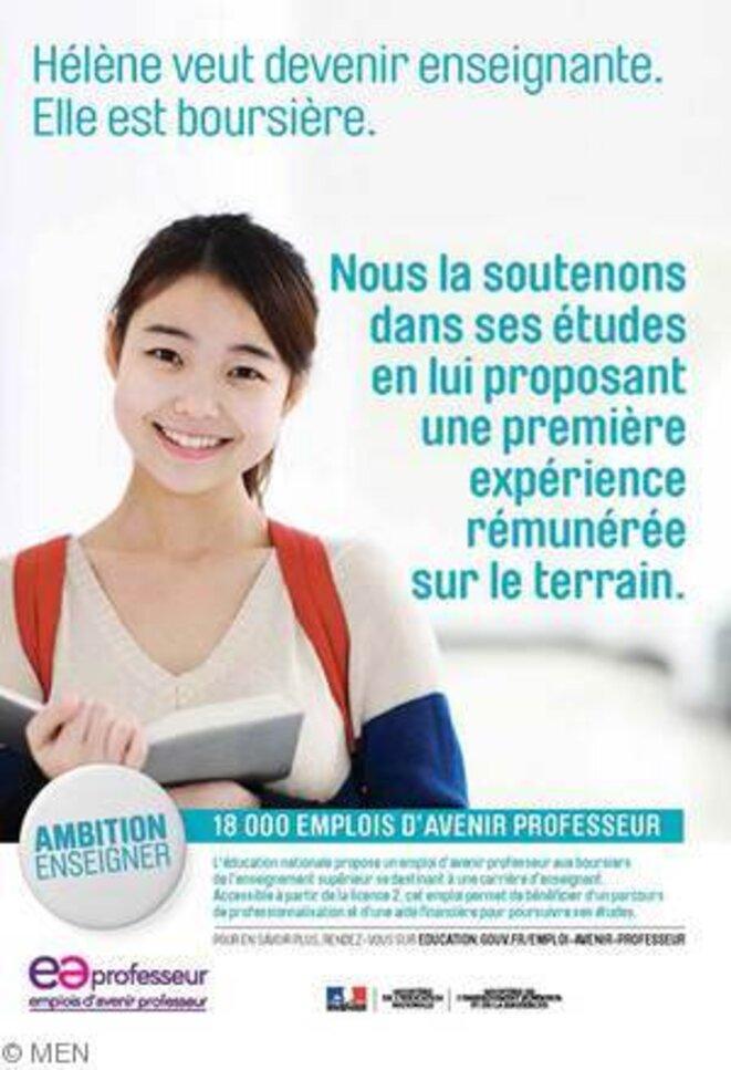 Campagne du Ministère de l'éducation nationale
