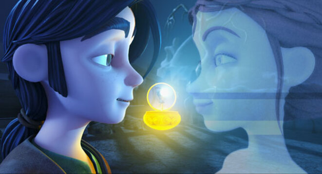 Premier film d animation en 3d cubain tom little et le for Un lointain miroir