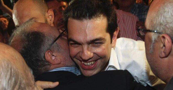 Tsipras le 6 mai 2012
