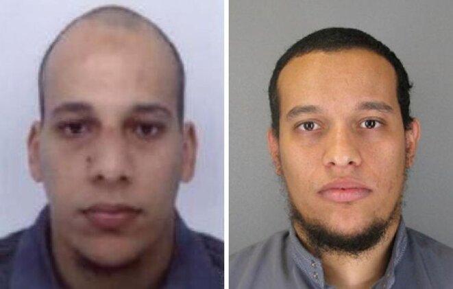 Les suspects  recherchés pour l'attentat contre Charlie Hebdo
