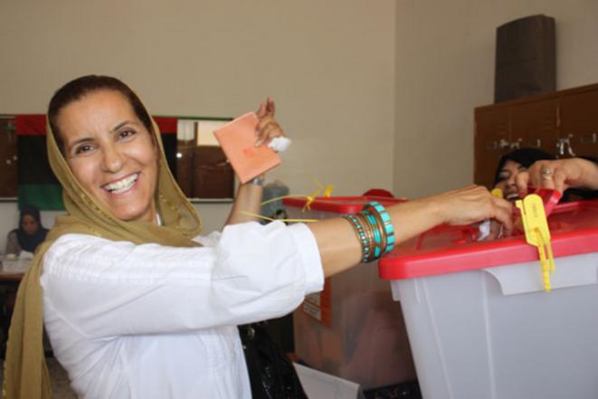 7 juillet 2012, premières élections en Libye depuis 1965