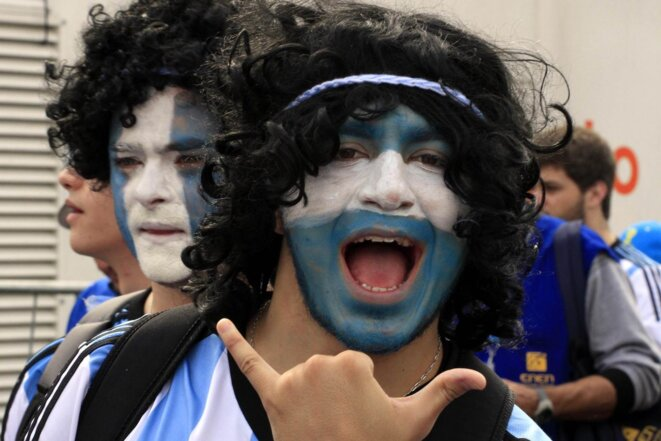 Argentin à Belo Horizonte  © Gonçalves PMPA