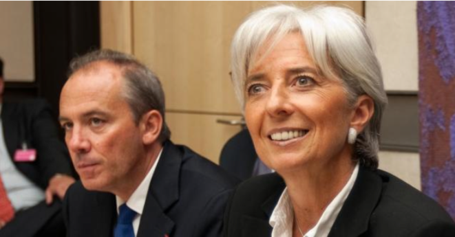 Stéphane Richard et Christine Lagarde © Reuters