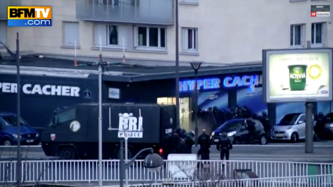 L'assaut porte de Vincennes