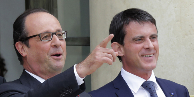 François Hollande et Manuel Valls © Reuters