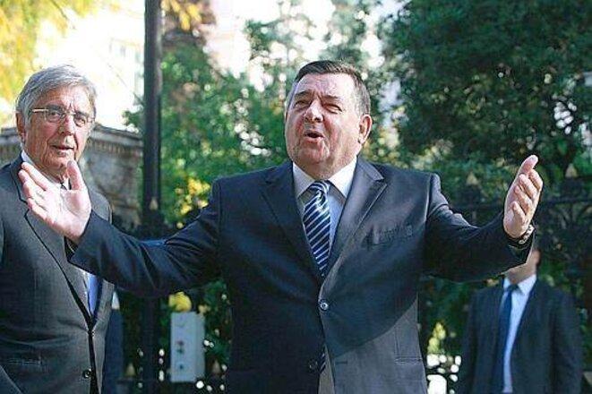 Georgios Karatzaféris © Reuters