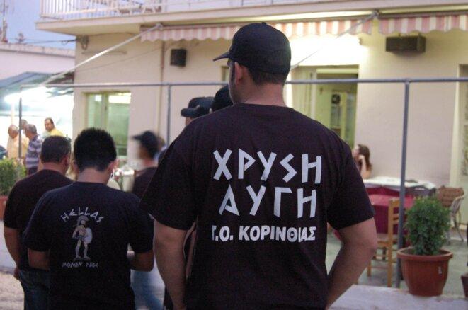 Des militants de Chryssi Avgui