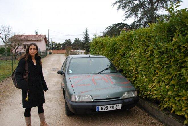 Marie Chantepie, candidate d'une liste citoyenne anti-barrage de Sivens.