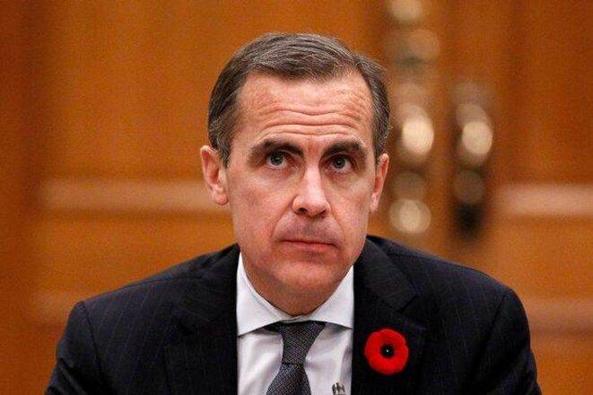Mark Carney, gouverneur de la Banque d'Angleterre. © Reuters