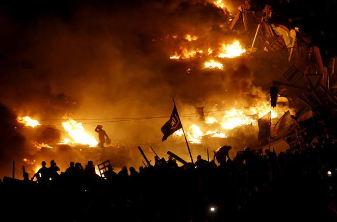 A Kiev dans la nuit de mercredi à jeudi