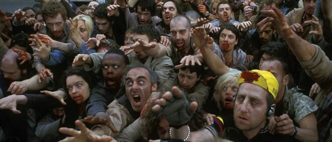 Image extraite du film « Shaun of the Dead » de Edgar Wright