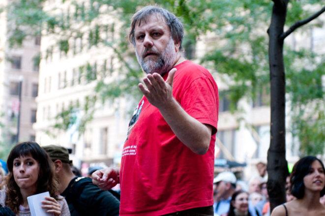 Slavoj Zizek à Occupy Wall Street