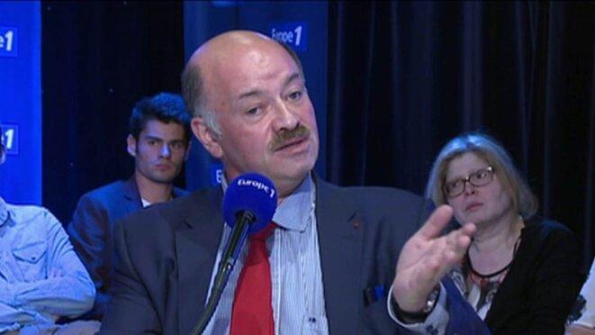 Alain Bauer sur Europe 1 en septembre 2014