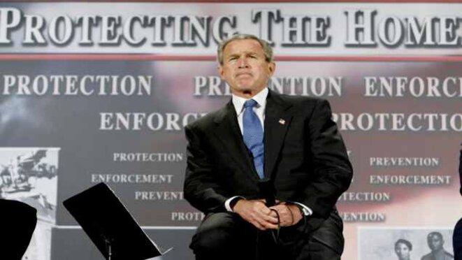 George W. Bush, président des Etats-Unis au moment de l'adoption du Patriot Act © Reuters
