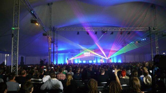 La cérémonie d'ouverture de OHM 2013