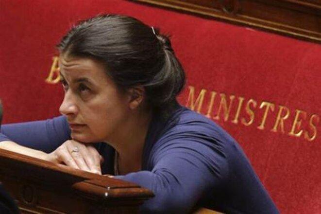 Cécile Duflot à l'Assemblée © Reuters