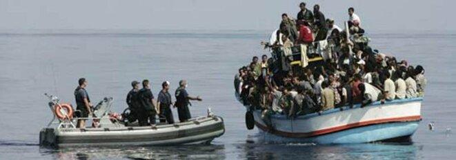Lampedusa, Guantanamo version italienne !  immig2